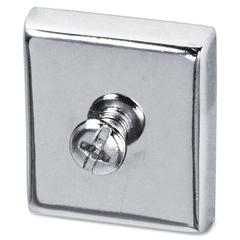 Lorell Large Heavy-Duty Cubicle Magnets - 2 / Card