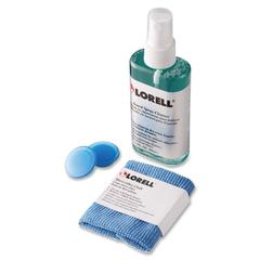 Lorell Dry-erase Board Cleaning Kit - Non-toxic - Blue - 1 / Card