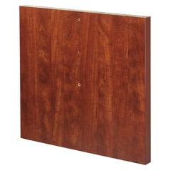 """Modular Cherry Conference Straight Table Base - Straight Base x 27.13"""" Width x 2"""" Depth - Assembly Required - Cherry, Laminated, Melamine - Chipboard, Medium Density Fiberboard (MDF)"""