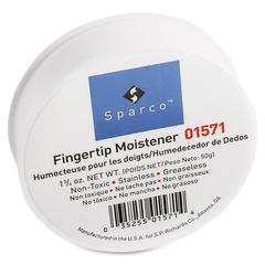 Sparco Fingertip Moistener - Odorless, Greaseless, Stainingless - Pink