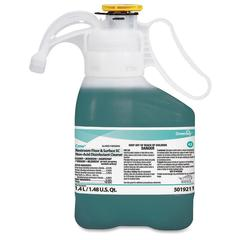 Diversey Restroom Floor/Surface SC Cleaner - Concentrate Spray - 0.37 gal (47.34 fl oz) - Fresh ScentBottle - 2 / Carton - Green