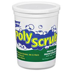 Spray Nine Poly Scrub Indust. Strength Hand Cleaner - 3.80 lb - Dirt Remover, Oil Remover, Grease Remover, Ink Remover, Soil Remover, Adhesive Remover, Odor Remover - Hand - Green - Solvent-free - 6 /