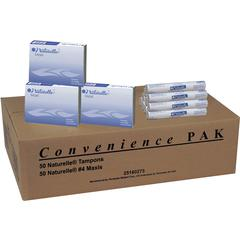 Impact Products Dual Vendor Hygiene Dispsr Convenience Pak - Individually Wrapped, Flushable, Anti-leak - 100 / Carton