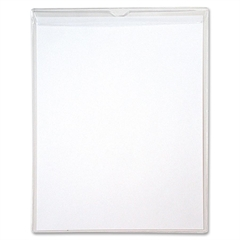 "Sturdi-Kleer Poly Envelopes with Flaps - Letter - 8 1/2"" x 11"" Sheet Size - Polypropylene - Clear - 10 / Pack"