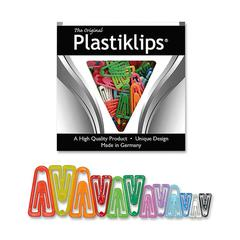 Plastiklips Paper Clip - Assorted - 315 Pack - Assorted - Plastic