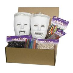 ChenilleKraft Plastic Masks Activities Kit - 1 / Kit - Plastic
