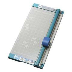 "Paper Trimmer - Cuts 10Sheet - 18"" Cutting Length - Straight Cutting - 0.8"" Height x 10.3"" Width x 18"" Depth - White"