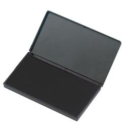 """Stamp Pad - 1 Each - 2.8"""" Width x 4.3"""" Length - Foam Pad - Black Ink"""