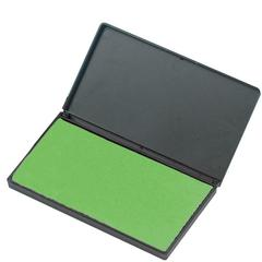 "CLI Stamp Pad - 1 Each - 2.8"" Width x 4.3"" Length - Foam Pad - Green Ink"
