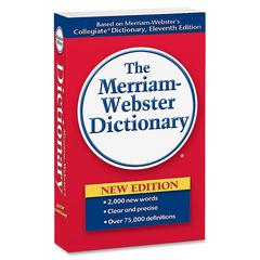Merriam-Webster Paperback Dictionary 11th Edition Dictionary Printed Book - English - Published on: 2004 July - 960 Pages