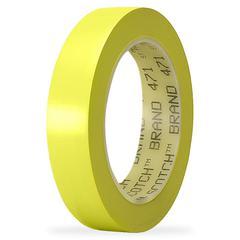 "3M Marking Tape - 1"" Width x 36 yd Length - 3"" Core - Vinyl - 1 / Roll - Yellow"