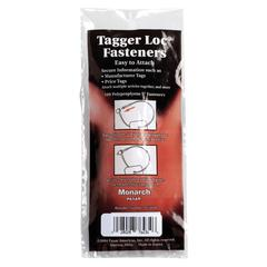 Monarch Tagger Loc Fastener - 100/Pack - White