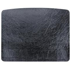 "OIC 2200 Desk Pad - Rectangle - 24"" Width x 19"" Depth - Vinyl - Black"