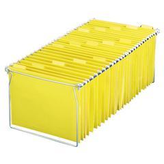"""Adjustable Hanging Folder Frame - 24"""" to 27"""" Letter Drawer Size Supported - Steel - 1/Set"""
