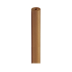 "Pacon Spectra ArtKraft Duo-Finish Paper Roll - 48"" x 200 ft - 1 / Roll - Brown - Kraft"