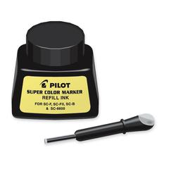 Pilot Marker Refill - Black 1 fl oz Ink - 1 Each