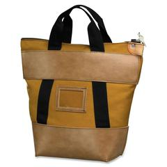 "SecurIT Heavy-duty Canvas Money Bag - 18"" Width x 18"" Length - Gold - Nylon - 1Each - Transporting"
