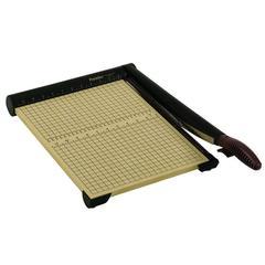 "Premier Sharpcut Paper Trimmers - Cuts 15Sheet - 15"" Cutting Length - Straight Cutting - 0.5"" Height x 12"" Width x 15.8"" Depth - Wood Base - Wood Grain, Maple"
