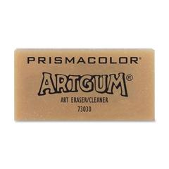 "Prismacolor Art Gum Eraser - Lead Pencil Eraser - Non-toxic - 1"" Height x 2"" Width - 1Each - Beige"