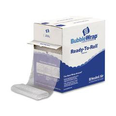 "Sealed Air Bubble Wrap Multi-purpose Material - 12"" Width x 100 ft Length - 1 Wrap(s) - Lightweight, Perforated - Clear"