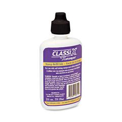 Classix Custom Self-Inking Refill - 1 Each - Black Ink - 2 fl oz