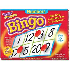 Trend Numbers Bingo Learning Game - Theme/Subject: Learning - Skill Learning: Number