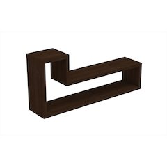 Barbas Tetris Floating Shelf  in Tobacco