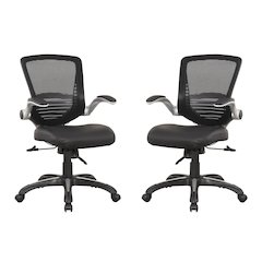 Ergonomic Walden Office Chair in Black Pu Leather