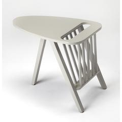 Lowery Gray Magazine Table, Gray