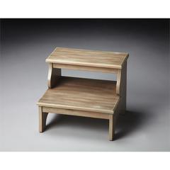 Melrose Driftwood Step Stool, Driftwood