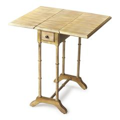 Darrow Driftwood Drop Leaf Table, Driftwood