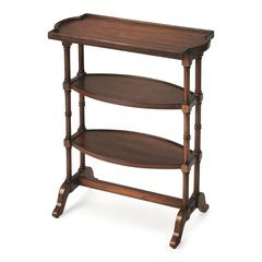Anton Antique Cherry Side Table, Antique Cherry