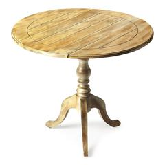 Dunlay Driftwood Drop Leaf Accent Table, Driftwood