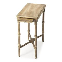 Skilling Driftwood Chairside Table, Driftwood
