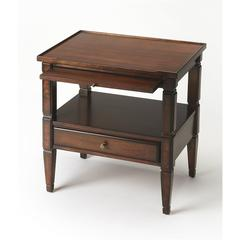 Winston Plantation Cherry Accent Table, Plantation Cherry