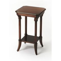 Darla Plantation Cherry End Table, Plantation Cherry
