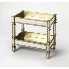 Bethany Mirrored Serving Table, Mirror