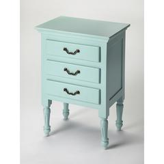 Nathalie Blue Accent Chest, Blue