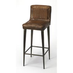 Butler Maxwell Leather Bar Stool