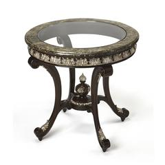 Butler Cornelio Fossil Stone Foyer Table