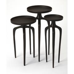 Butler Franco Black Scatter Table Set