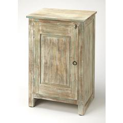 Butler Hollister Distressed Wood Accent Cabinet