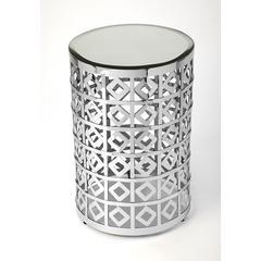 Butler Norton Mirror & Metal Accent Table