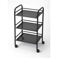 BUTLER CONCORD BLACK SERVING CART
