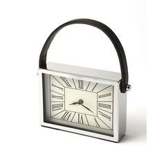 Gustav Rectangular Desk Clock, Clock- Hors D'oeuvres