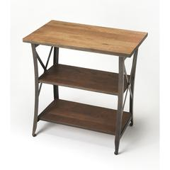 Overton Industrial Chic Side Table, Industrial Chic