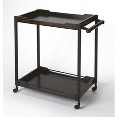 Butler Landry Wood & Metal Bar Cart
