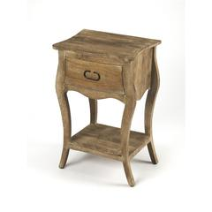 Rochelle Natural Nightstand, Natural Mango