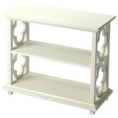 Paloma Cottage White Bookcase, Cottage White