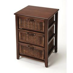 Butler Falmouth Rattan Chairside Chest